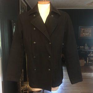 Ralph Lauren Denim/Corduroy Pea Coat